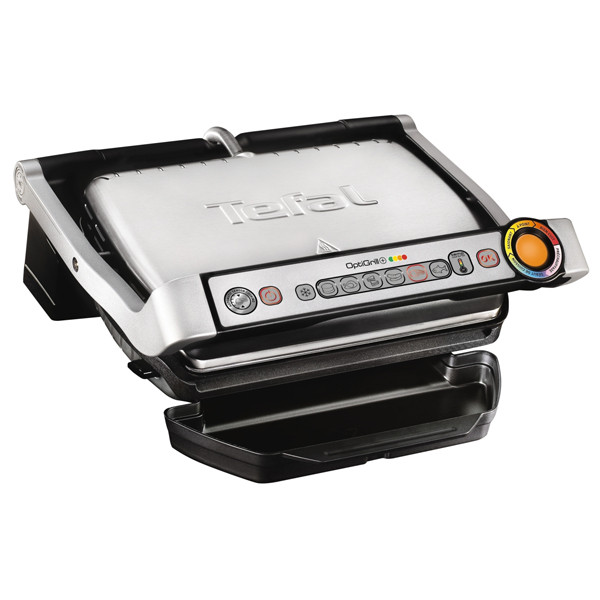 Gratar electric Tefal Optigrill+ GC712D 2000W Argintiu