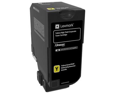 Cartus toner Lexmark 84C2HYE yellow 16k compatibil cu CX725de CX725dhe CX725dthe