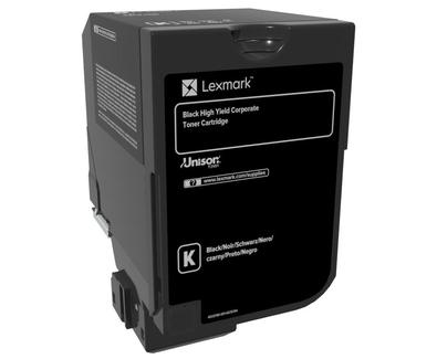 Cartus toner Lexmark 84C2HKE black 25k compatibil cu CX725de CX725dhe CX725dthe