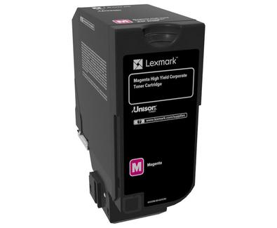 Cartus toner Lexmark 84C2HME magenta 16k compatibil cu CX725de CX725dhe CX725dthe