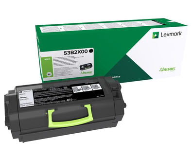 Cartus toner Lexmark 53B2X00 Black Return Program 45000 pagini