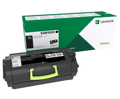 Cartus toner Lexmark 53B2000 Black Return Program 11000 pagini