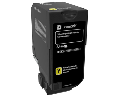 Cartus toner Lexmark 74C2HYE Yellow Corporate 12000 pagini
