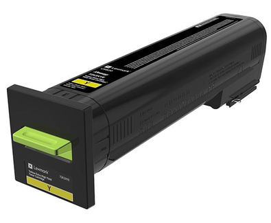 Cartus toner Lexmark 72K2XYE Yellow Corporate 22000 pagini