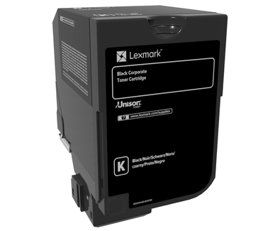 Cartus toner Lexmark 74C20KE Black Corporate 3000 pagini