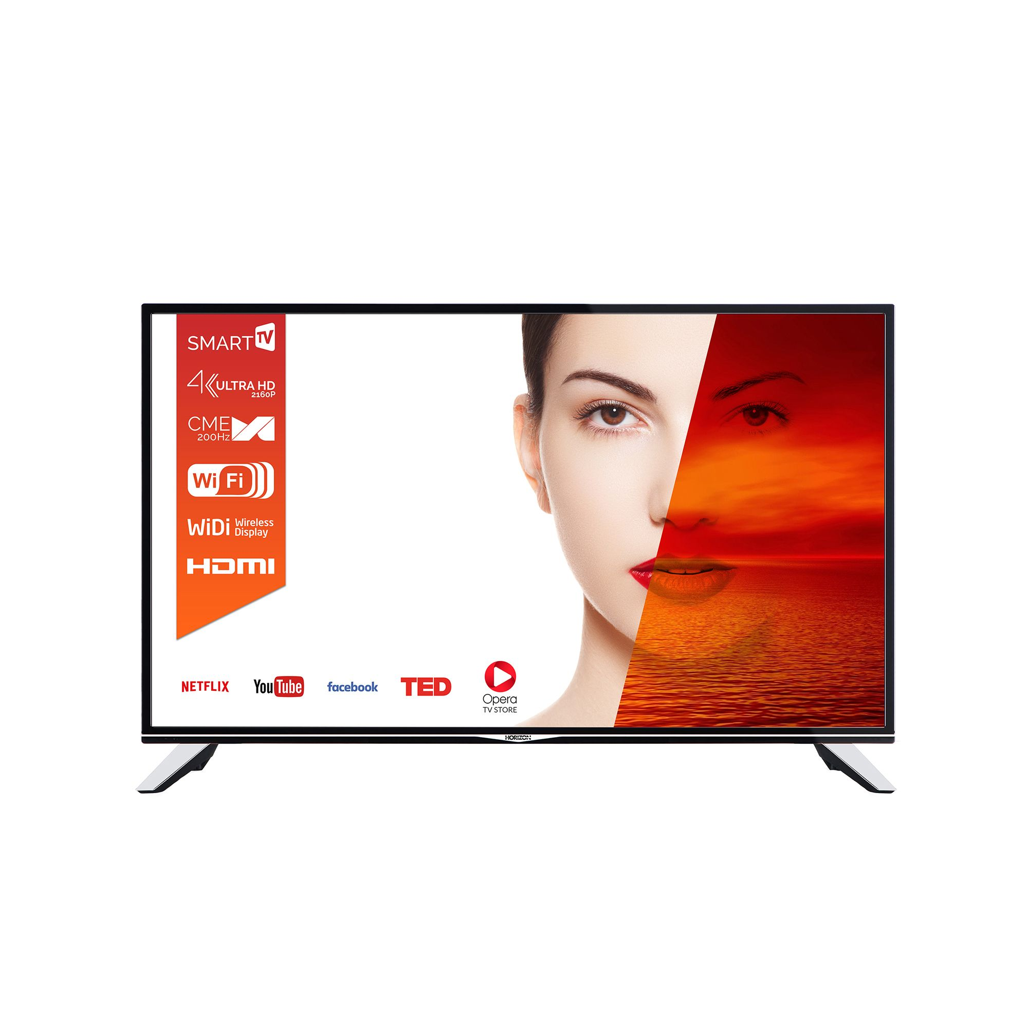 Televizor LED Horizon Smart TV 49HL7510U 123cm Ultra HD Negru