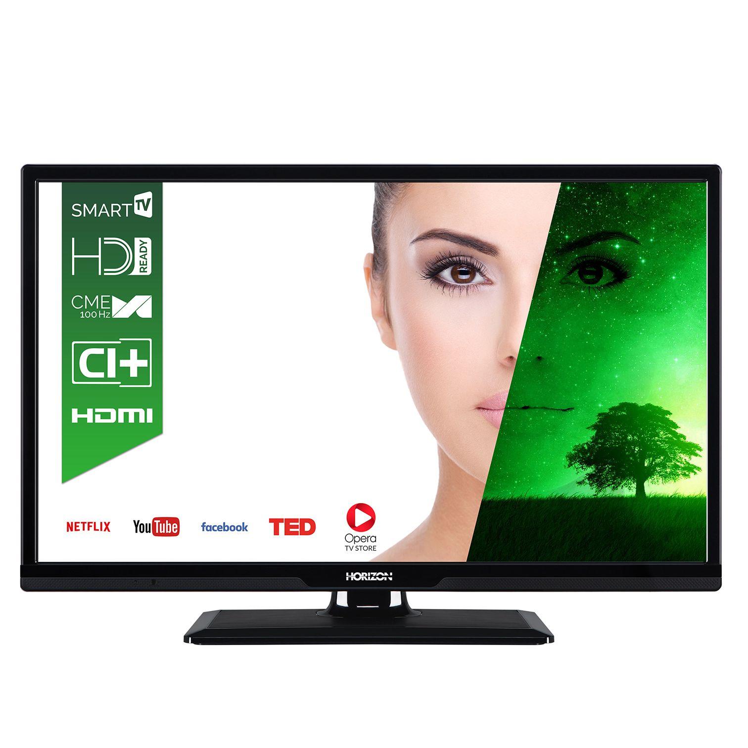 Televizor LED Horizon Smart TV 24HL7110H 61cm HD Ready Negru