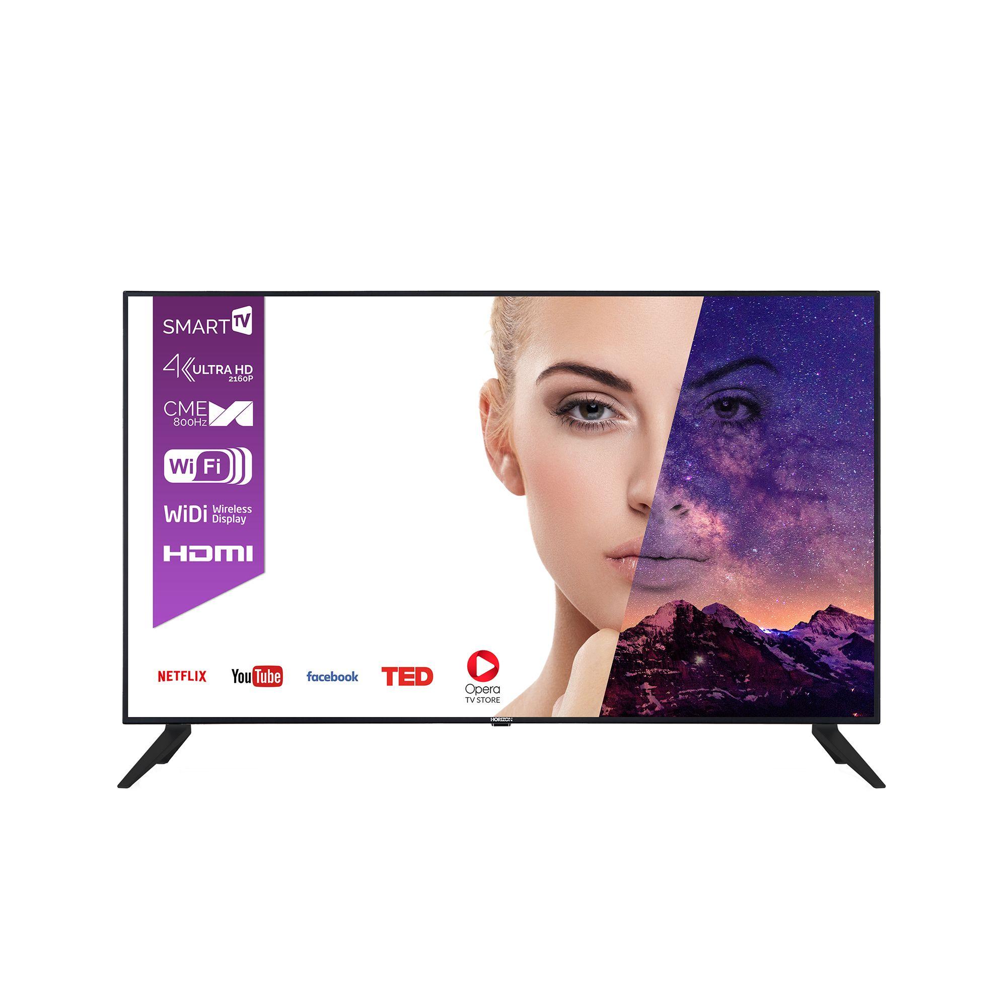 Televizor LED Horizon Smart TV 55HL9710U 140cm Ultra HD Negru