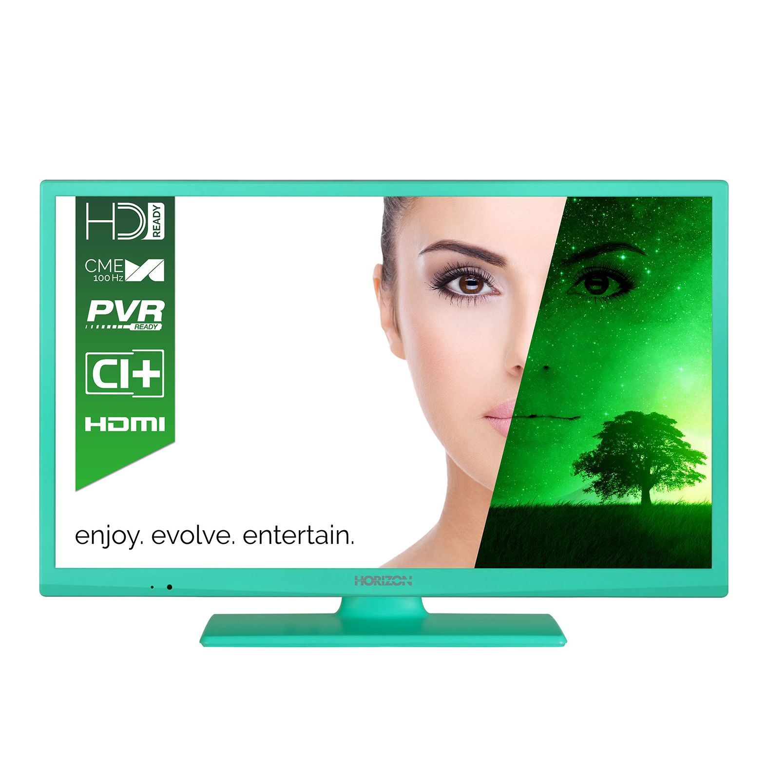 Televizor LED Horizon 24HL7103H 61cm HD Ready Verde