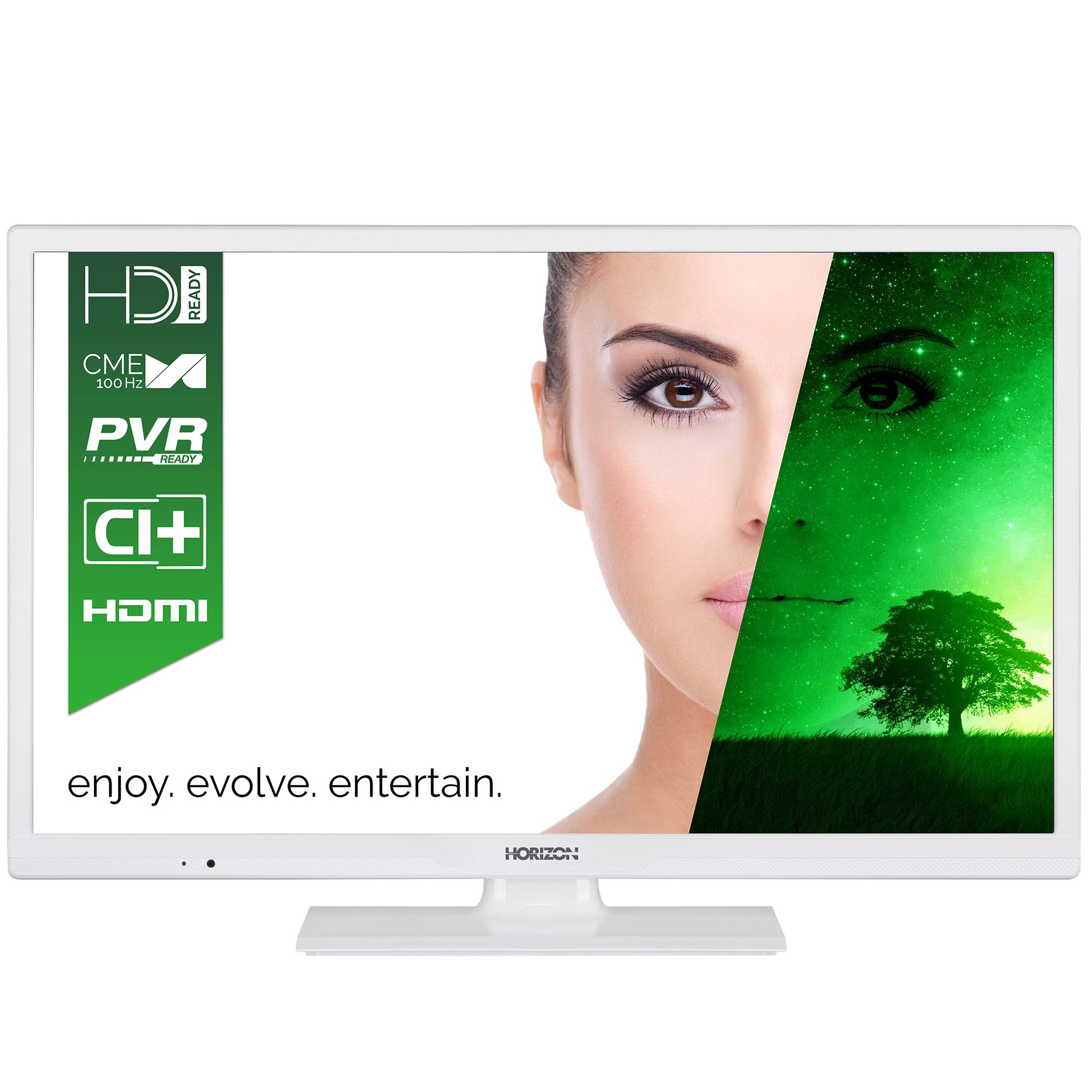 Televizor LED Horizon 24HL7101H 61cm HD Ready Alb