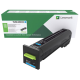 Cartus toner Lexmark 72K20C0 Cyan, Return Program, 8000 pagini
