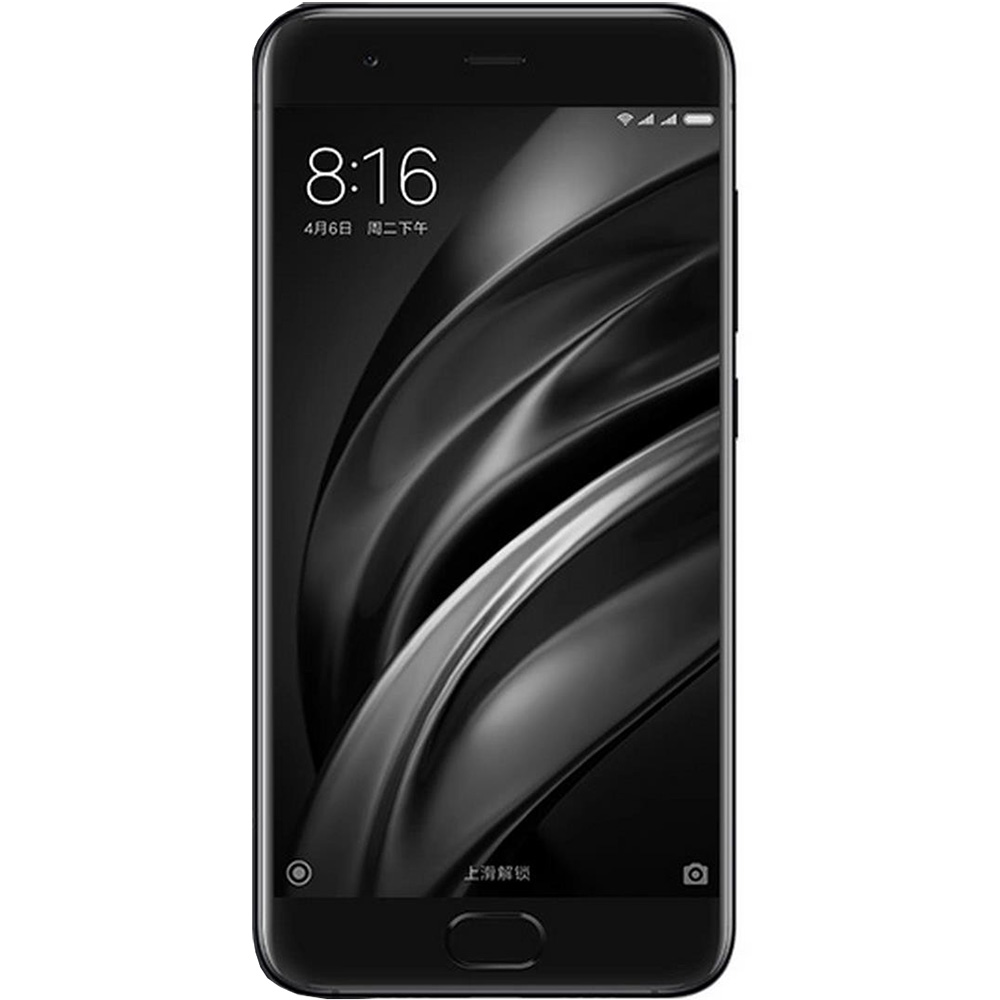 Telefon Mobil Xiaomi Mi 6 128GB Flash 6GB RAM Dual SIM 4G Ceramic Black