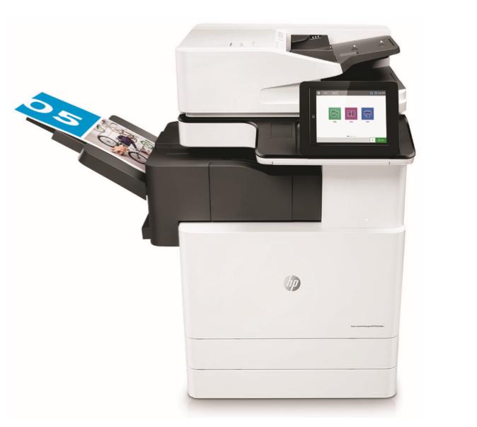 Multifunctional Laser Color HP LaserJet MFP E87660dn
