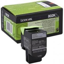 Cartus toner Lexmark 802KE Black Corporate 1000 pagini