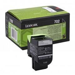 Cartus toner Lexmark 702KE Black Corporate 1000 pagini