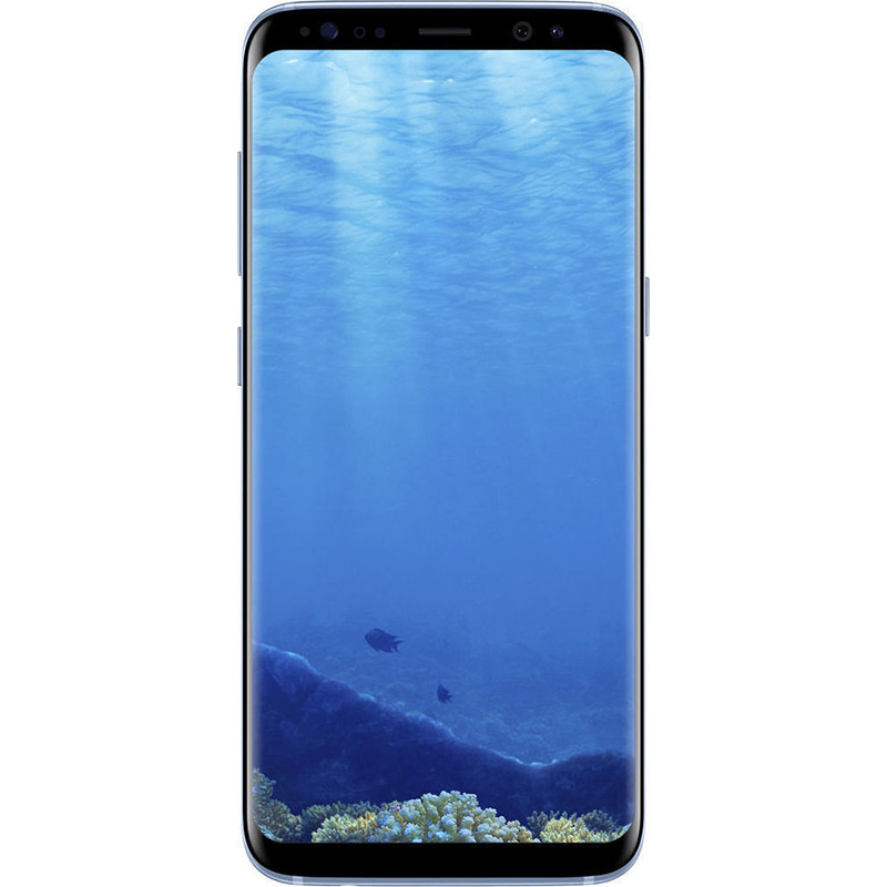 Telefon Mobil Samsung Galaxy S8 G950 64GB Flash 4GB RAM Dual SIM 4G Blue