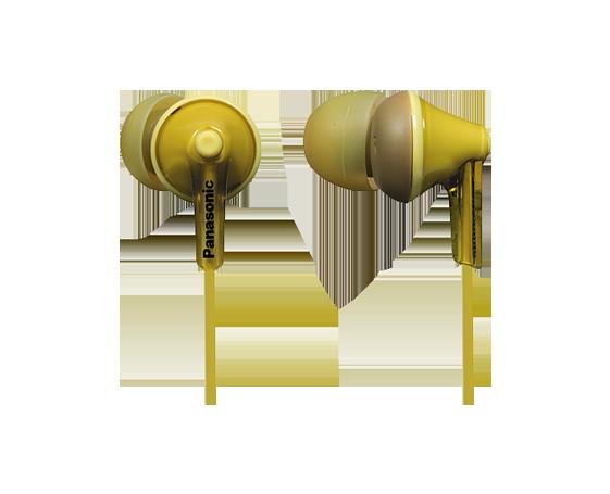 Casti in-ear Panasonic RP-HJE125E-Y Galben