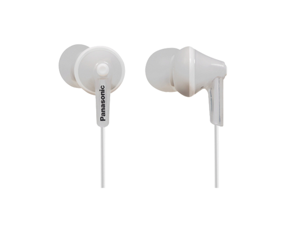 Casti in-ear Panasonic RP-HJE125E-Y Alb