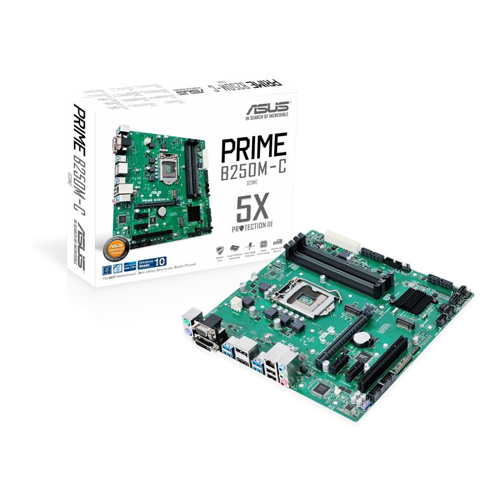 Placa de baza ASUS PRIME B250M-C/CSM socket 1151