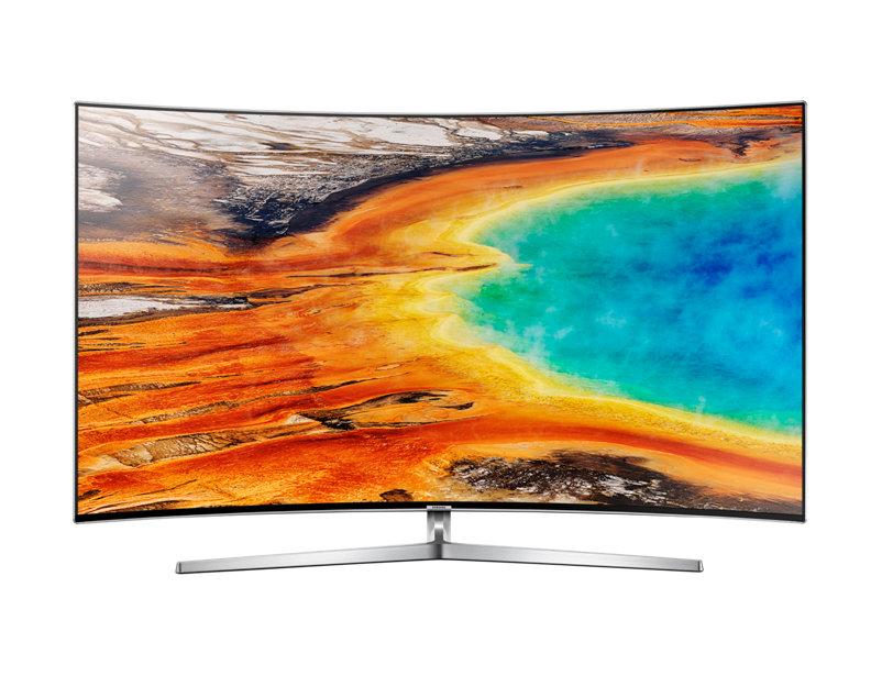 Televizor LED Samsung Smart TV UE55MU9002 Curbat 55 Ultra HD Argintiu