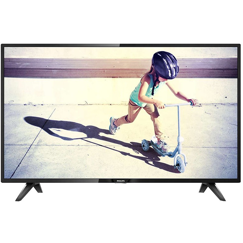 Televizor LED Philips 43PFT4112 108cm Full HD Negru
