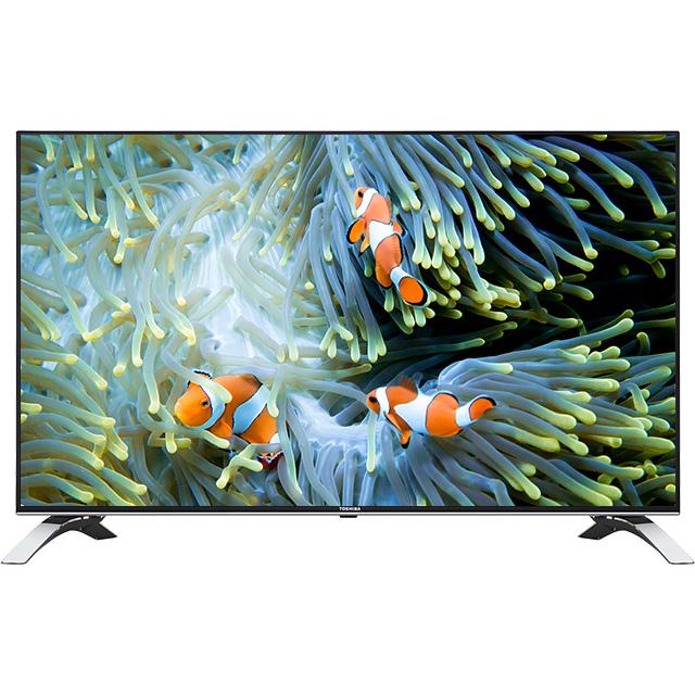 Televizor LED Toshiba Smart TV 49U6663DG 124cm Ultra HD Negru