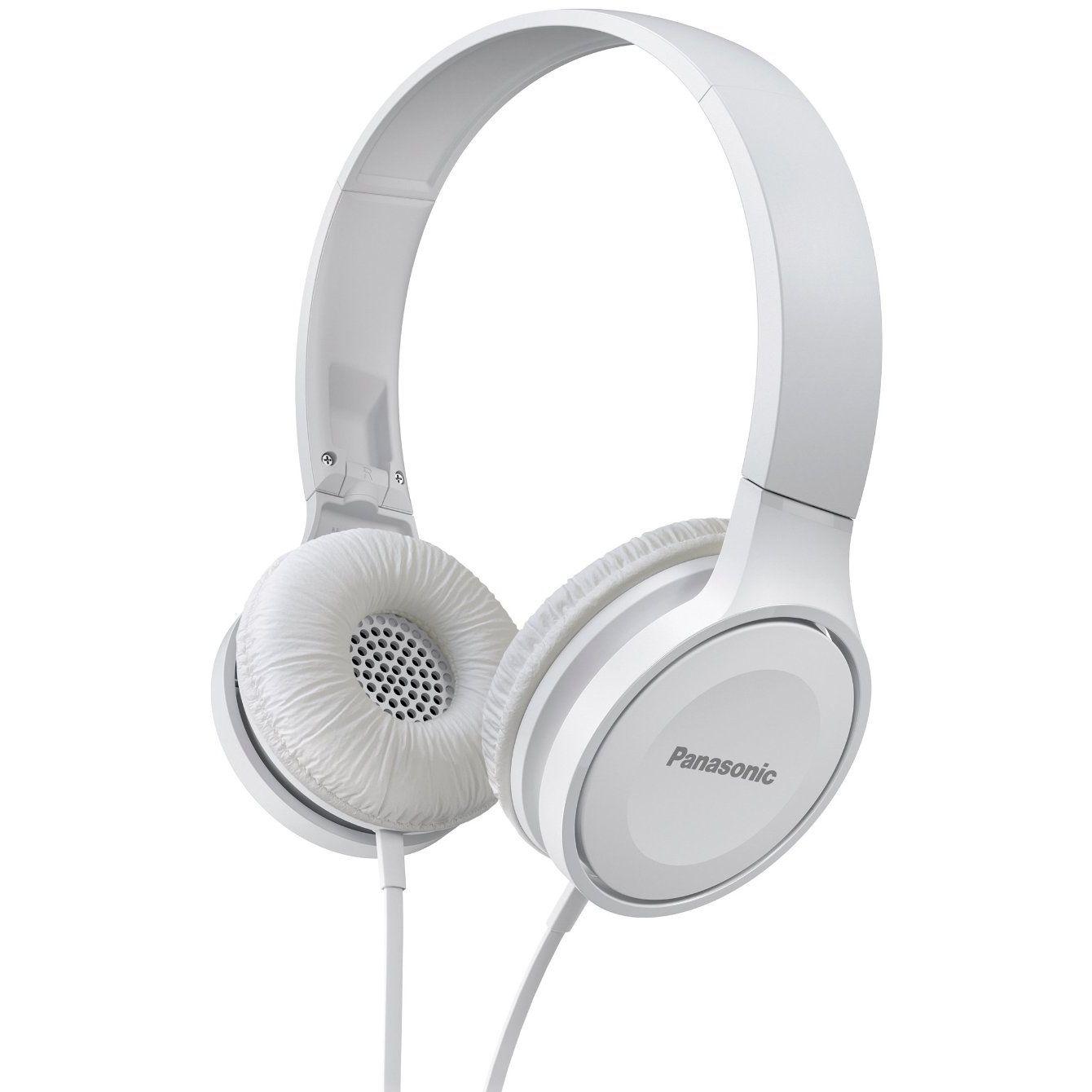 Casti cu banda Panasonic RP-HF100ME-W Microfon Alb