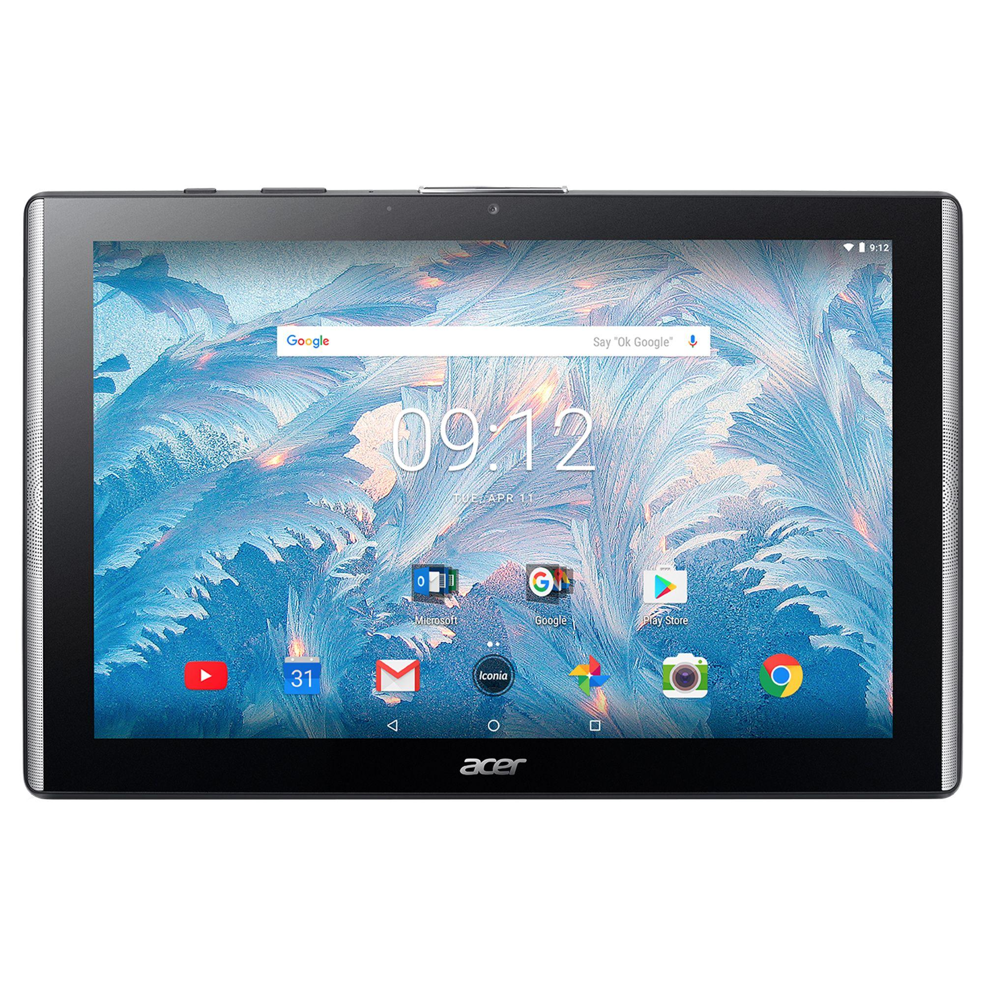 Tableta Acer Iconia B3-A40FHD 10.1 32GB Flash 2GB RAM Wi-Fi Black