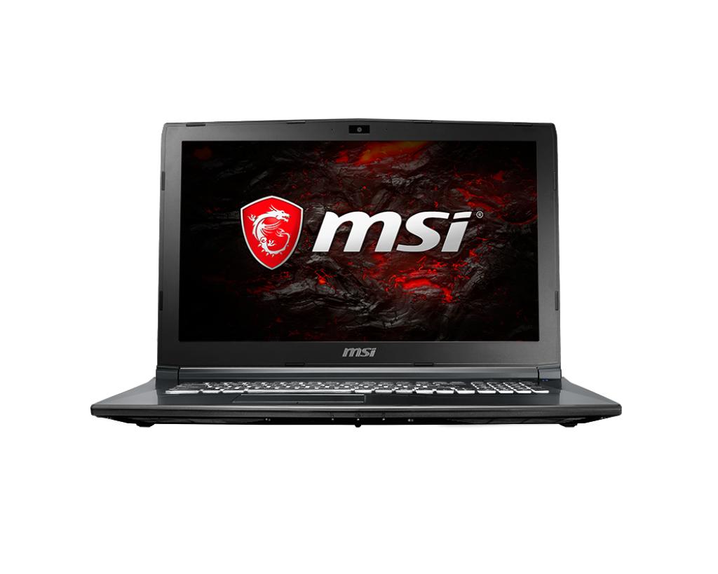 Notebook MSI GL62M 7RDX 15.6 Full HD Intel Core i5-7300HQ GTX 1050-2GB RAM 8GB HDD 1TB + SSD 128GB Windows 10 Home Negru