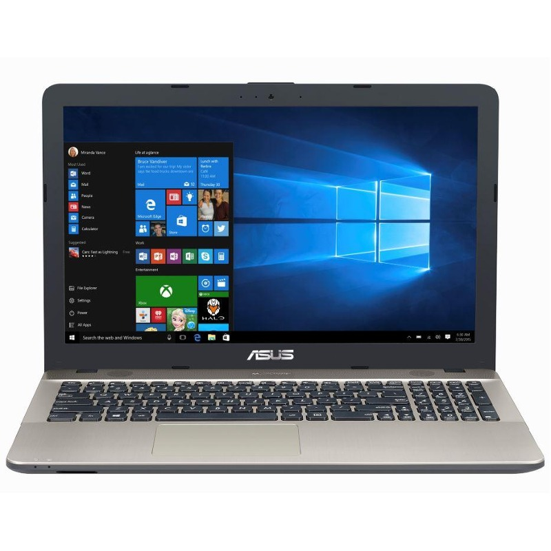 Notebook Asus VivoBook Max X541UV 15.6 HD Intel Core i3-7100U 920MX-2GB RAM 4GB HDD 1TB Windows 10 Home Negru