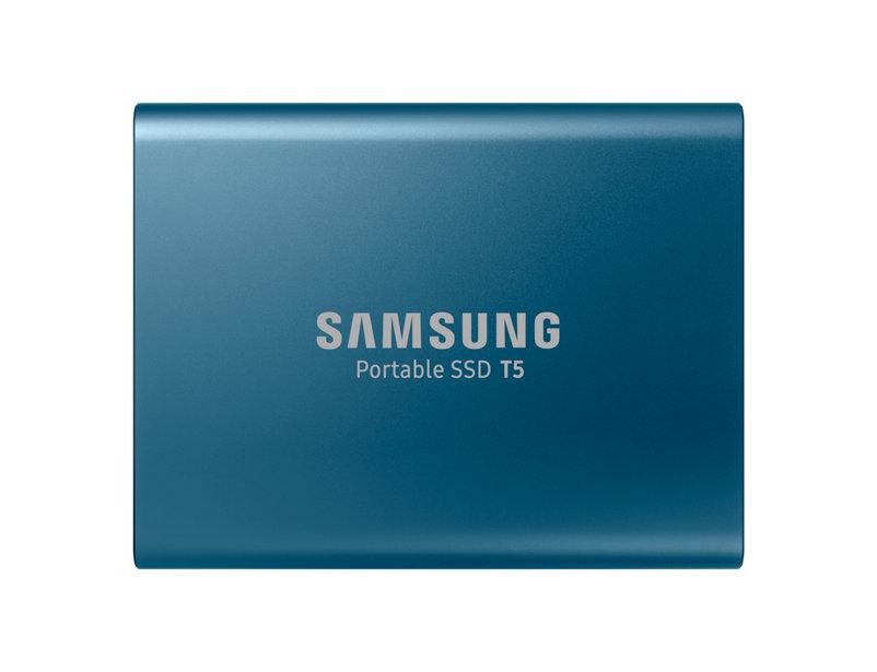 Hard Disk SSD Portabil Samsung T5 250GB USB 3.1