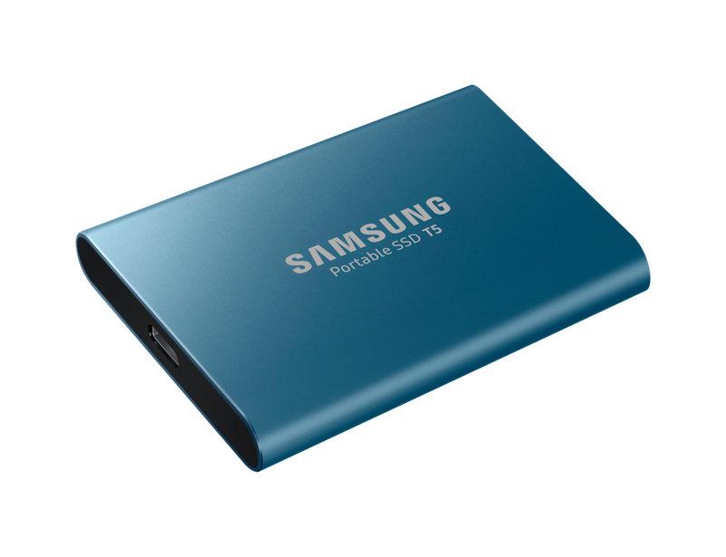 Hard Disk SSD Portabil Samsung T5 500GB USB 3.1