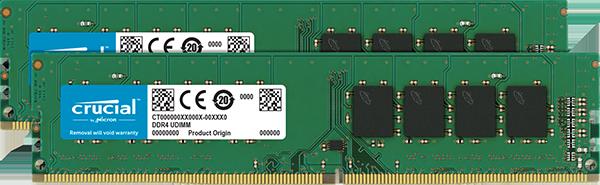 Memorie Desktop Crucial CT2K8G4DFS8266 16GB (2 x 8GB) DDR4 2666 MHz CL19