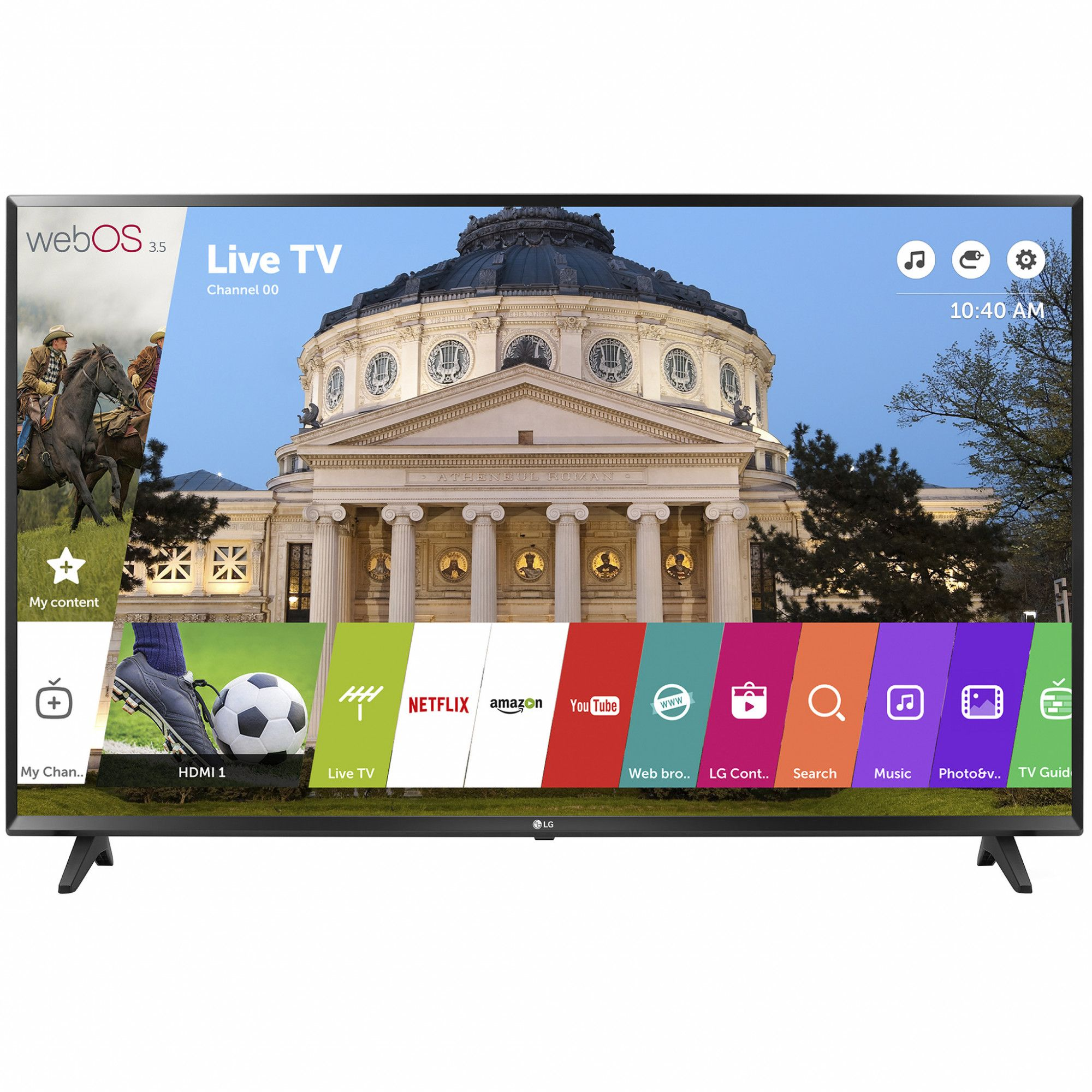 Televizor LED LG Smart TV 43LJ594V 108cm Full HD Negru