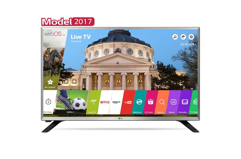 Televizor LED LG Smart TV 32LJ590U 80cm HD Ready Gri