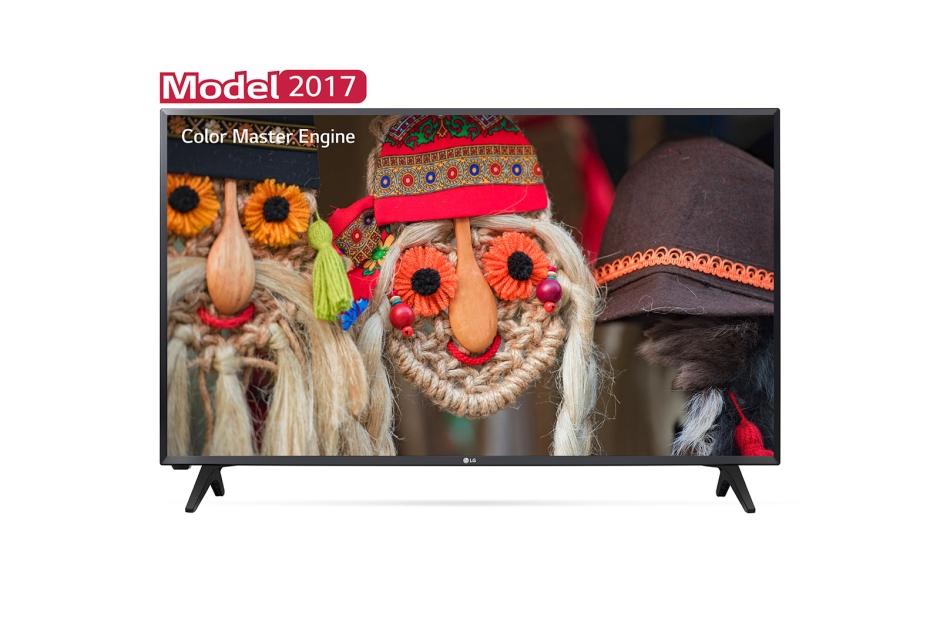 Televizor LED LG 32LJ500V 80cm Full HD Negru
