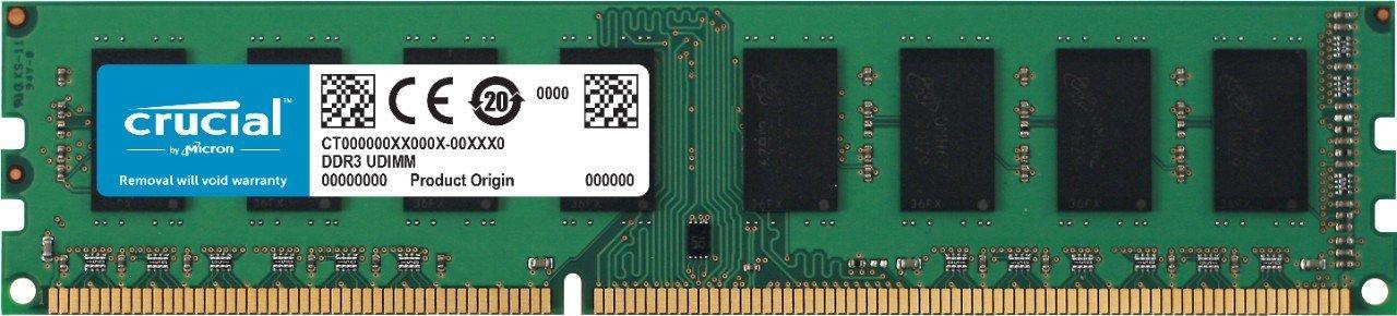 Memorie Desktop Crucial CT51264BD186DJ 4GB (1 x 4GB) DDR3L 1866 MHz CL13