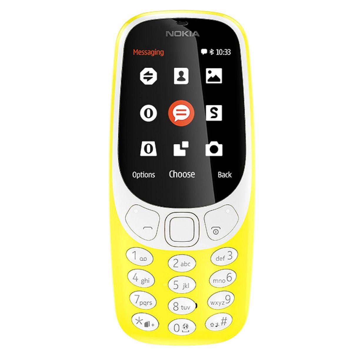 Telefon Mobil Nokia 3310 (2017) Single SIM Yellow