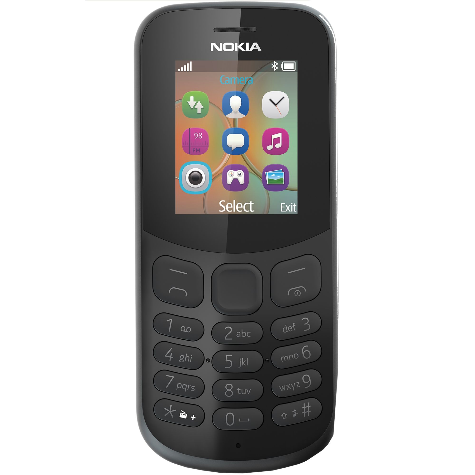 Telefon Mobil Nokia 130 (2017) Single SIM Black