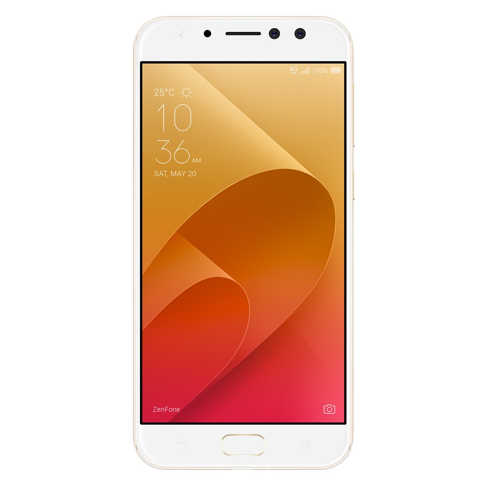 Telefon Mobil Asus ZenFone 4 Selfie Pro ZD552KL 64GB Flash Dual SIM 4G Gold