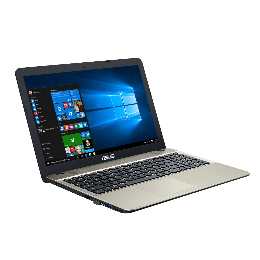 Notebook Asus VivoBook Max X541UA 15.6 HD Intel Core i3-7100U RAM 4GB HDD 500GB Windows 10 Home Negru