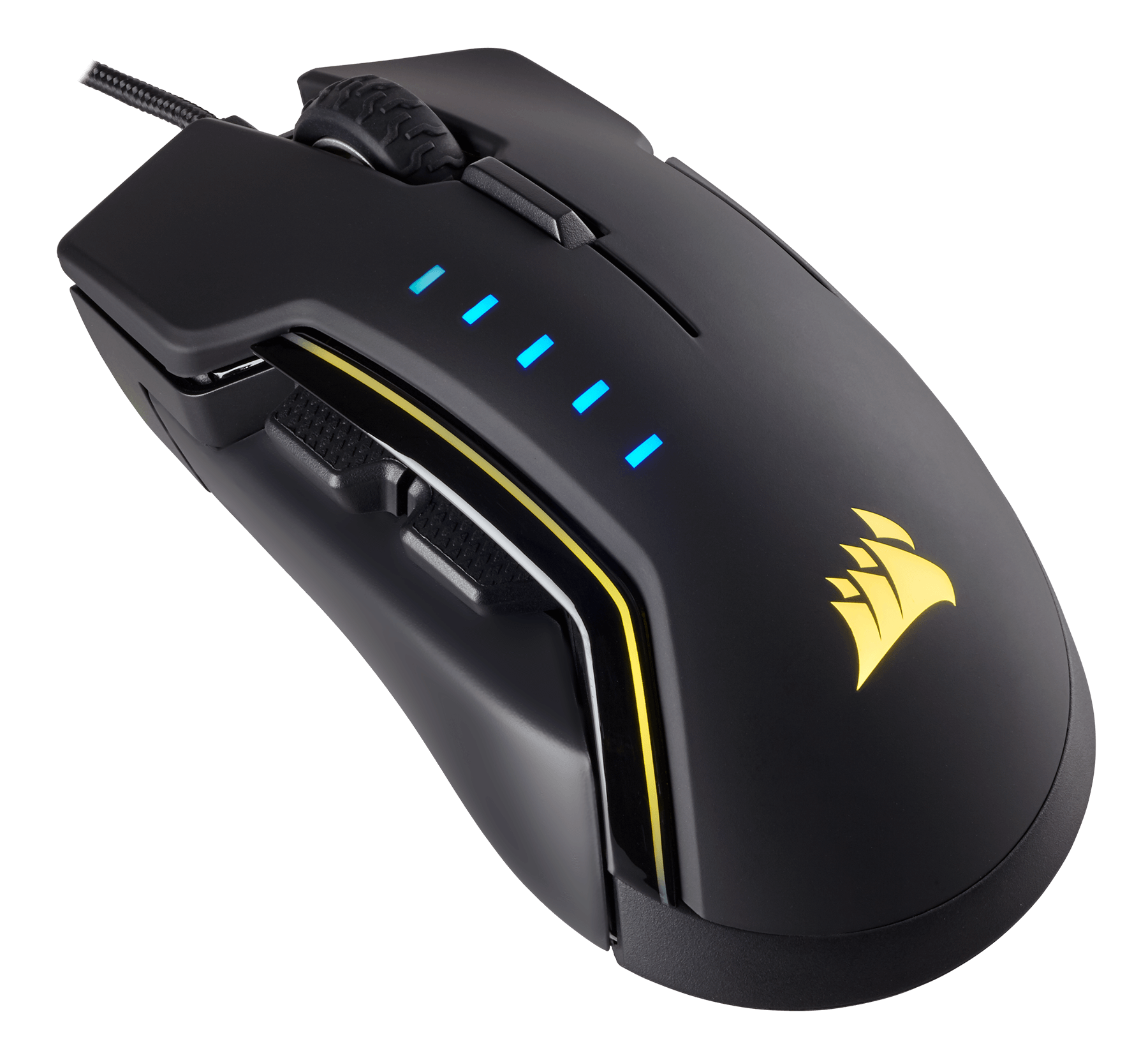 Mouse Gaming Corsair GLAIVE RGB Black