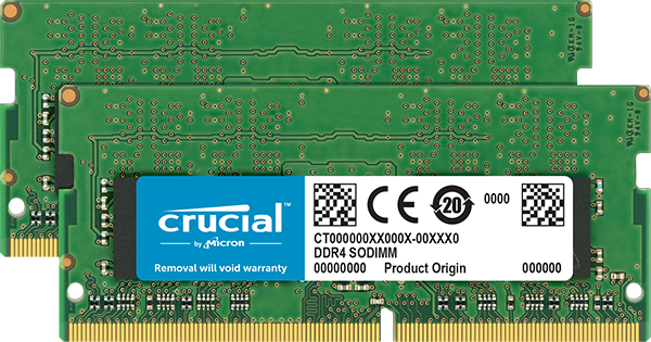Memorie Notebook Micron Crucial CT2K16G4SFD824A 2 x 16GB DDR4 2400MHz
