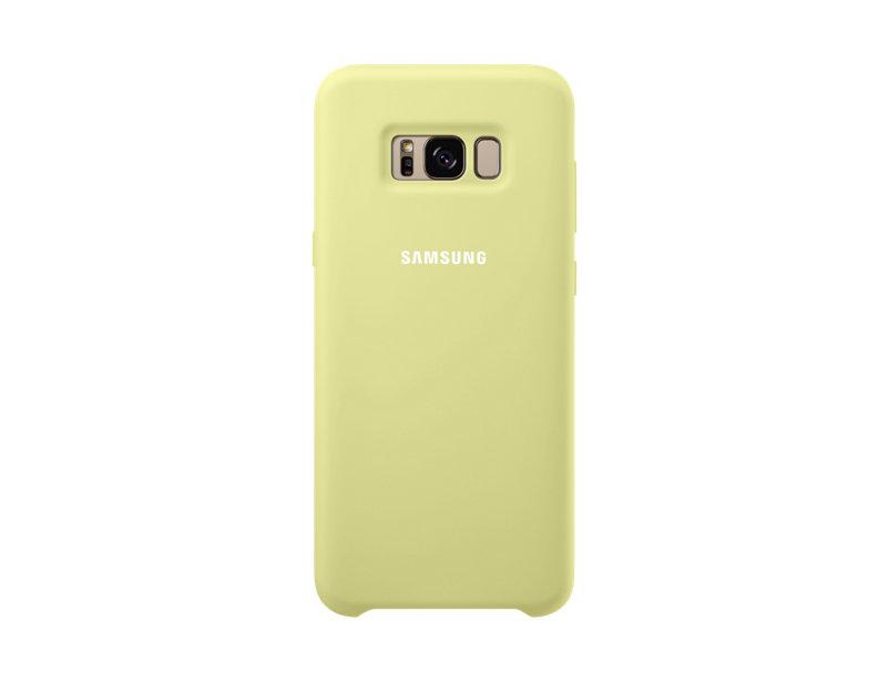 Husa protectie spate din silicon pentru Samsung Galaxy S8+ Verde