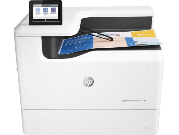 Imprimanta Inkjet HP PageWide Managed Color E75160dn