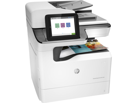 Multifunctional Color HP PageWide Managed Color MFP E77650dn
