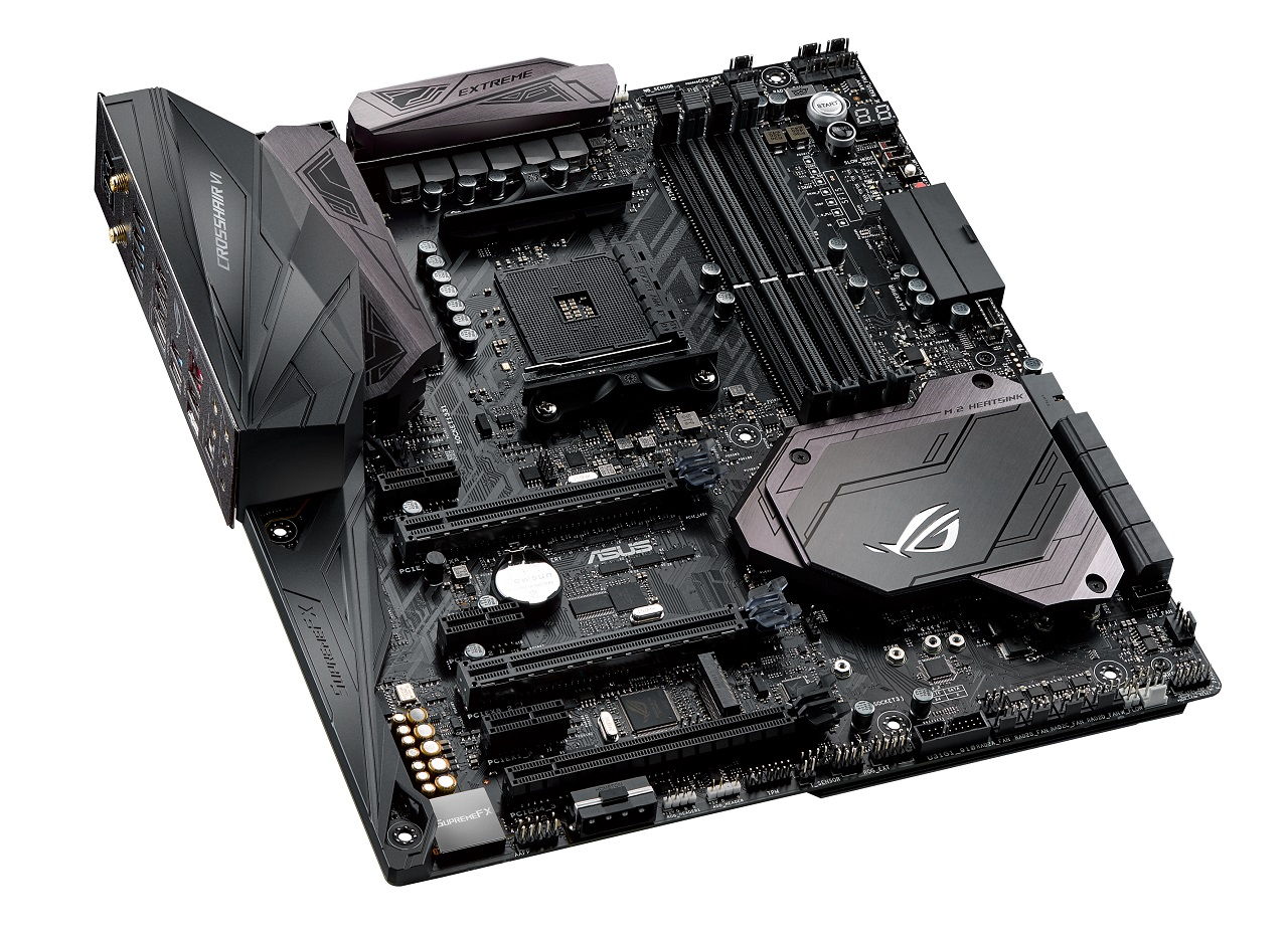 Placa de baza ASUS CROSSHAIR VI EXTREME Socket AM4