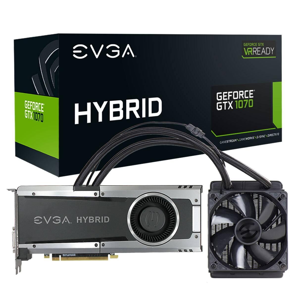 Placa Video EVGA GeForce GTX 1070 Gaming 8GB GDDR5 256 biti Hybrid