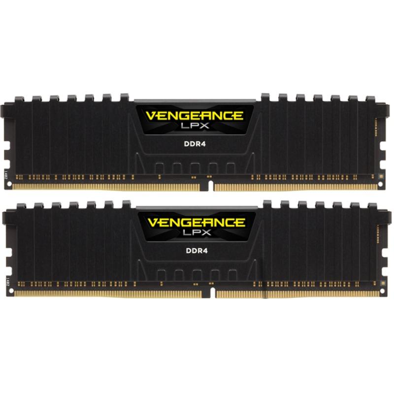 Memorie Desktop Corsair Vengeance LPX 16GB (2 x 8GB) DDR4 3000MHz Black