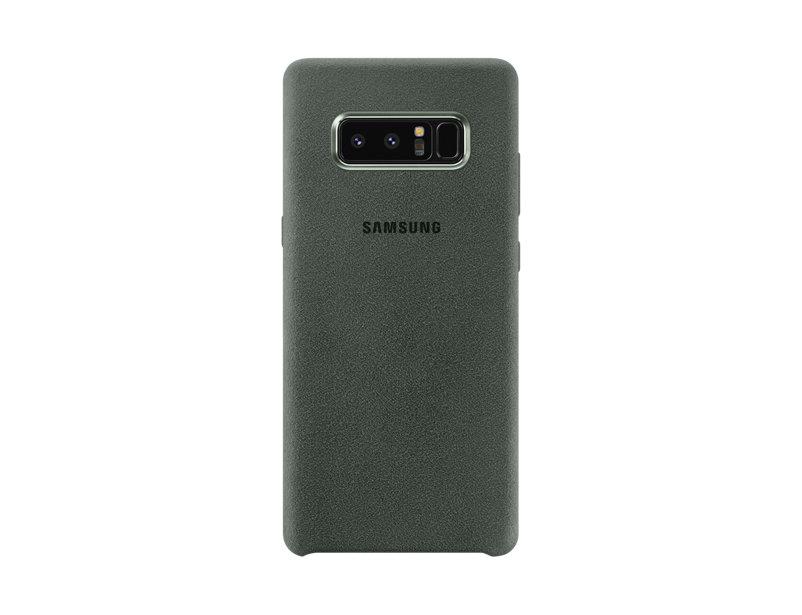 Capac protectie Alcantara Cover Samsung pentru Galaxy Note 8 N950 Gray